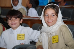 Ibrahim and Adeela enjoying the event